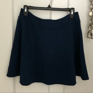 Dark navy blue flowy skirt from urban outfitters